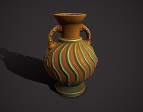 amphora 3D model VR / AR ready