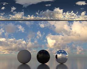 3D Skydome HDR - Cloudy Blue Sky 2