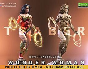3D printable model Wonder Woman Statue - DC Comics