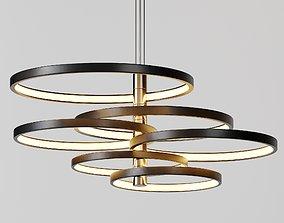 3D Hoopla Multi-Light LED Pendant