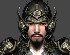 General of Ancient China Ancient Chinese Armor 3D asset 2