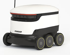 Delivery Robot 01 3D
