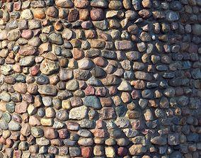 rock Stone wall 3D