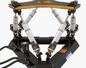 3D model Hexapod Platform