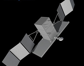 4 Satellites collection 3D
