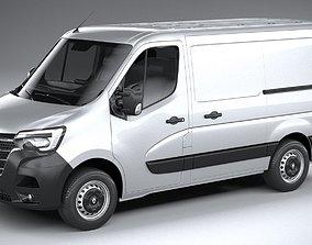 3D model Renault Master L1H1 2020