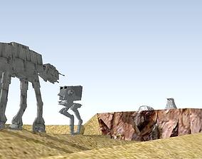 3D Star Wars - Tatooine imperial Troop