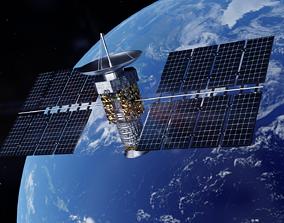Satellite 3D model technology
