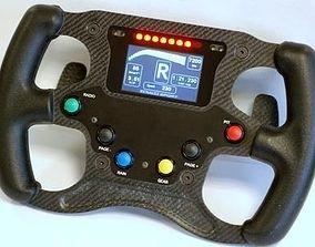 3D Formula Renault 2000 steering wheel