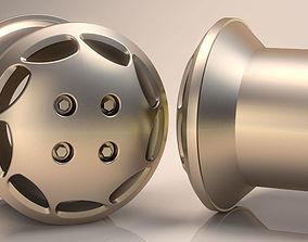 Car Wheel 3D Tire clear Model