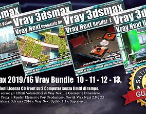 3ds max Vray Next Bundle 10 - 11 - 12 - 13