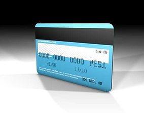 3D Generic credit card