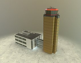3D model Control Tower 2