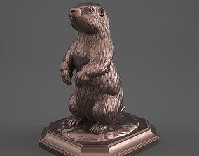 figure 3D print model Marmot