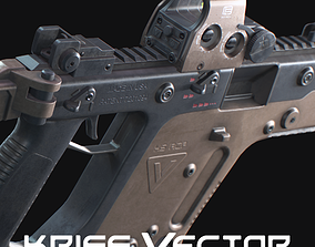 3D asset Kriss Vector Game ready model