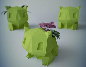 3D model Flower pot bulbasaur
