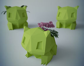 3D model Flower pot bulbasaur