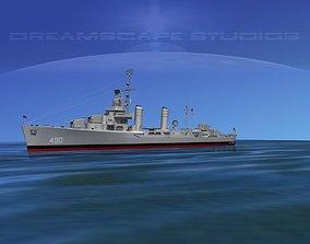 Gleaves Class Destroyer USS Quick 3D model