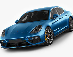 3D model Porsche Panamera Turbo 2017