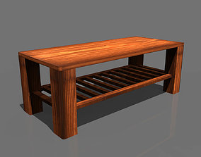 wood stooll 3D