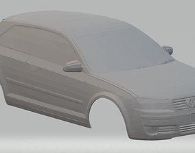 Audi A3 2006 Printable Body Car