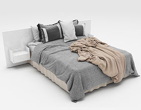 cloth Bed collection 3D model