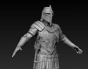 Knight Zbrush 3D