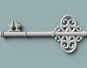 seal 3D print model The key is ceremonial