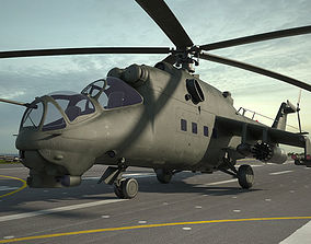 3D Mil Mi-24