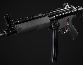 MP5 SMG 3D model