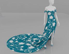 women fashion clothes 3D model