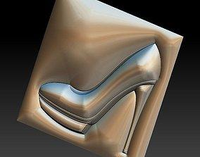 3D printable model No 21 Women high heels shoes