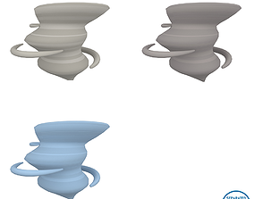 Tornado Pack 01 3D asset