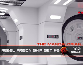 3D print model The Mandalorian - Rebel Prison Ship 3 - 2