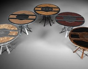 Round Table M02 - The Marquis Collection 3D model