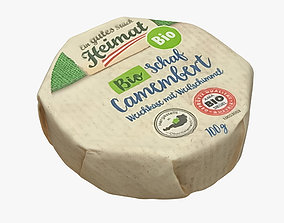 3D model Camembert Cheese