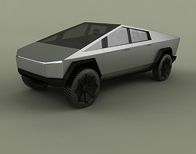 Tesla Cybertruck 3D