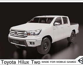 2016 Toyota Hilux Two Cabin 3D model