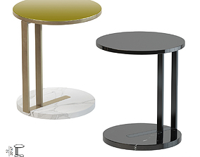 3D model VR / AR ready Meridiani Ralf Low Table