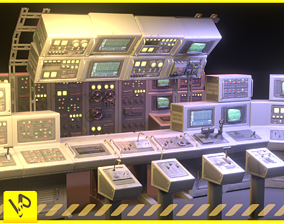 bunker 3D asset Switchboard pack