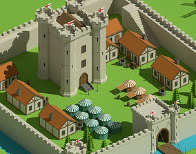 SimplePoly Medieval - Low Poly Assets 3D model