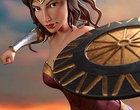 3D model Wonder Woman Cartoon