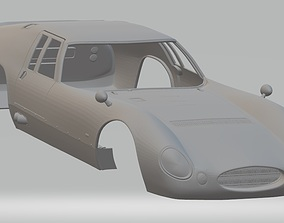 Maserati Tipo 151-3 Printable Body Car