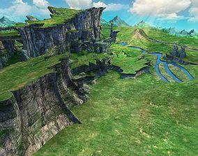 Mountain Scene 3D model