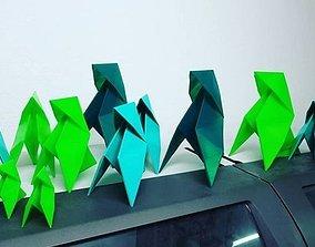 3D printable model Origami