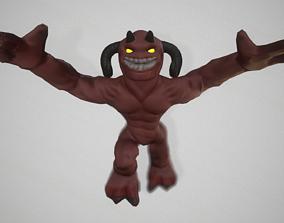 3D asset rigged Devil