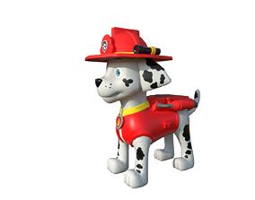 Marshall paw patrol dog 3D model