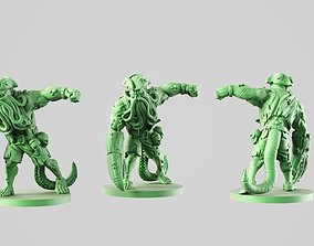 Zombie Abomination 3D printable model
