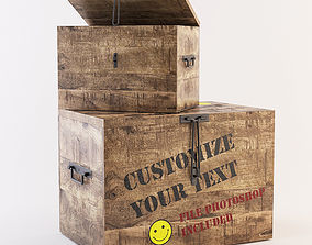 packet 3D Box customize