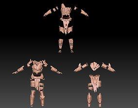 various CHEETAH ARMOR 3D model